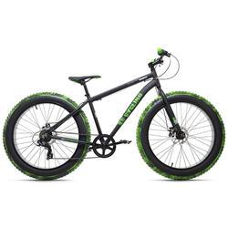Fatbike 26'' Crusher noir-vert aluminium KS Cycling