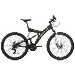 VTT tout suspendu 26'' Topspin noir TC 51 cm KS Cycling