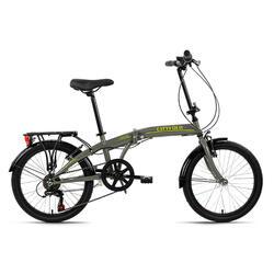 Vouwfiets 20'' Cityfold grijs KS Cycling