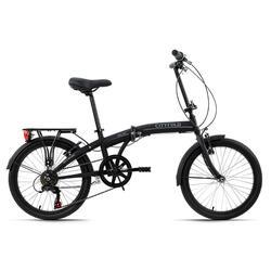 Vouwfiets 20'' Cityfold zwart KS Cycling