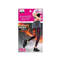 SLIMWALK - BeauActy Compression Shape Leggings for Sports (BLACK) PH750/ PH751
