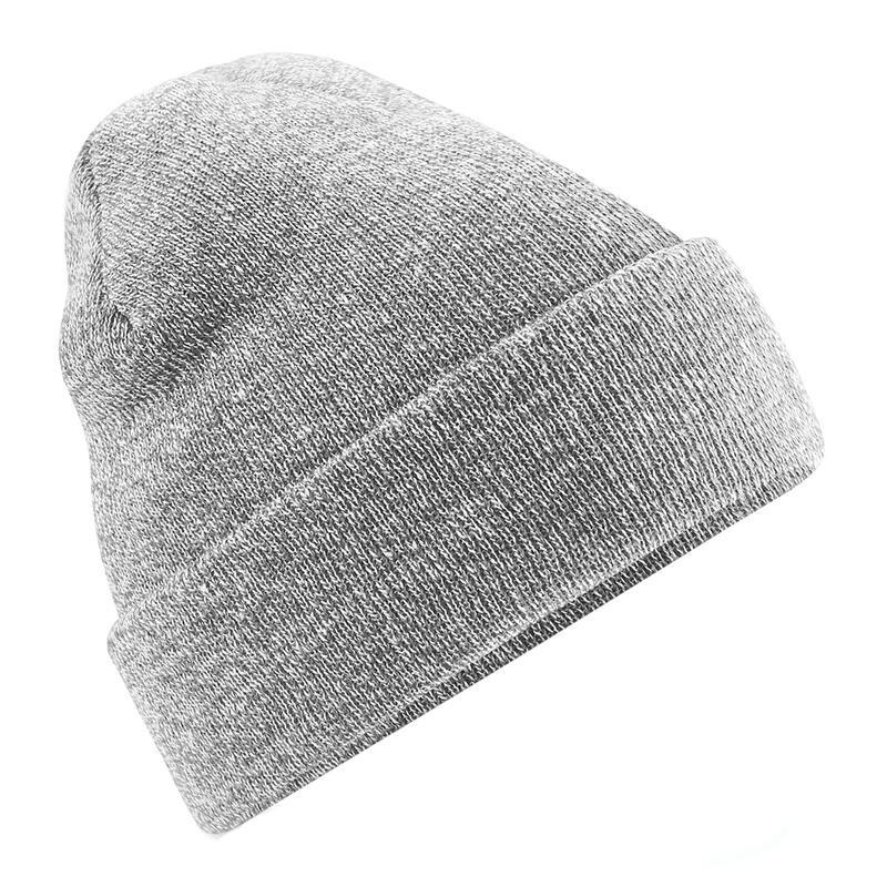 chapeau d'hiver lisse adulte sport gris