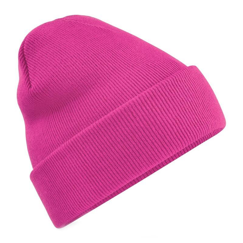 chapeau d'hiver lisse adulte sport fuchsia