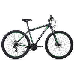 VTT semi rigide 29'' Sharp noir-vert TC 43 cm KS Cycling