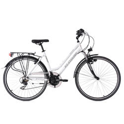 VTC dame 28'' Montreal blanc KS Cycling