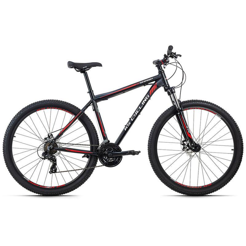 Hardtail Mountainbike 29'' Sharp zwart KS Cycling