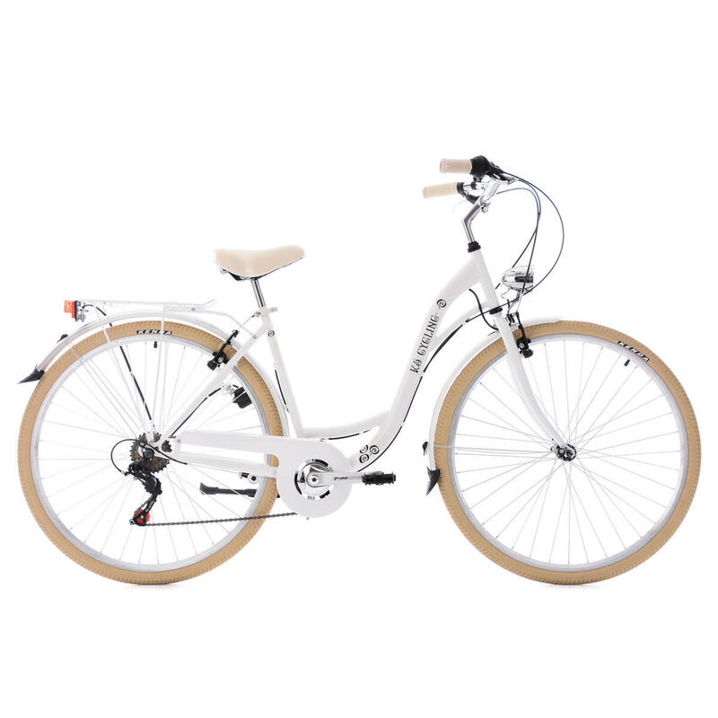 Vélo de ville 28'' Casino blanc TC48cm KSCycling