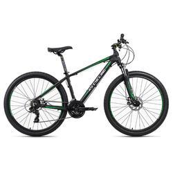 VTT semi-rigide 27,5'' Morzine noir-vert TC 46 cm KS Cycling