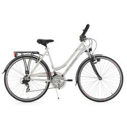 Trekking fiets dames 28'' Vegas wit KSCycling