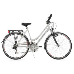 VTC dame 28'' Vegas blanc multi KS Cycling