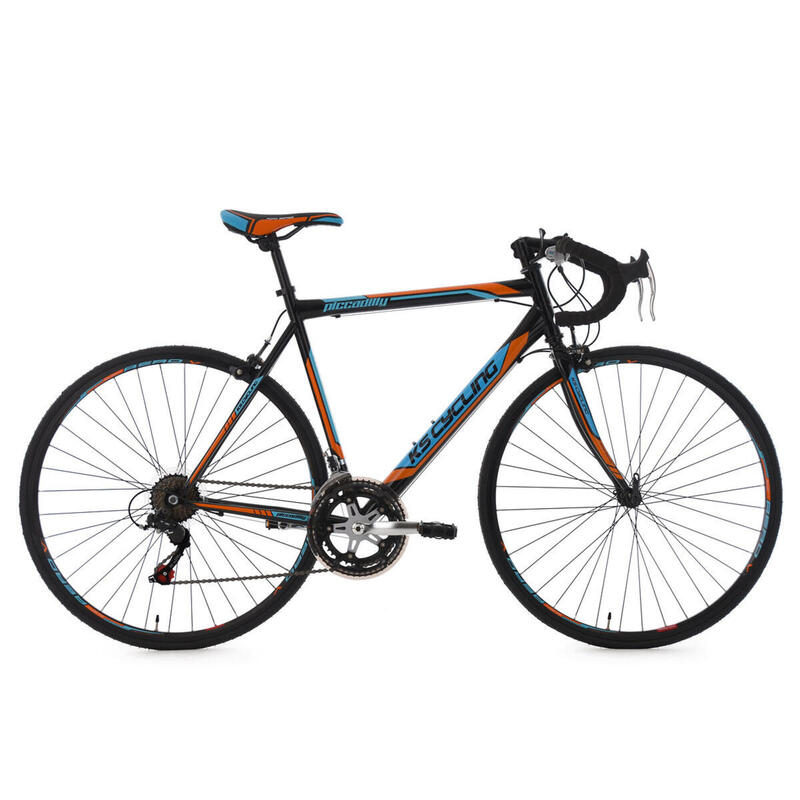 Racefiets 28'' Piccadilly zwart KS Cycling