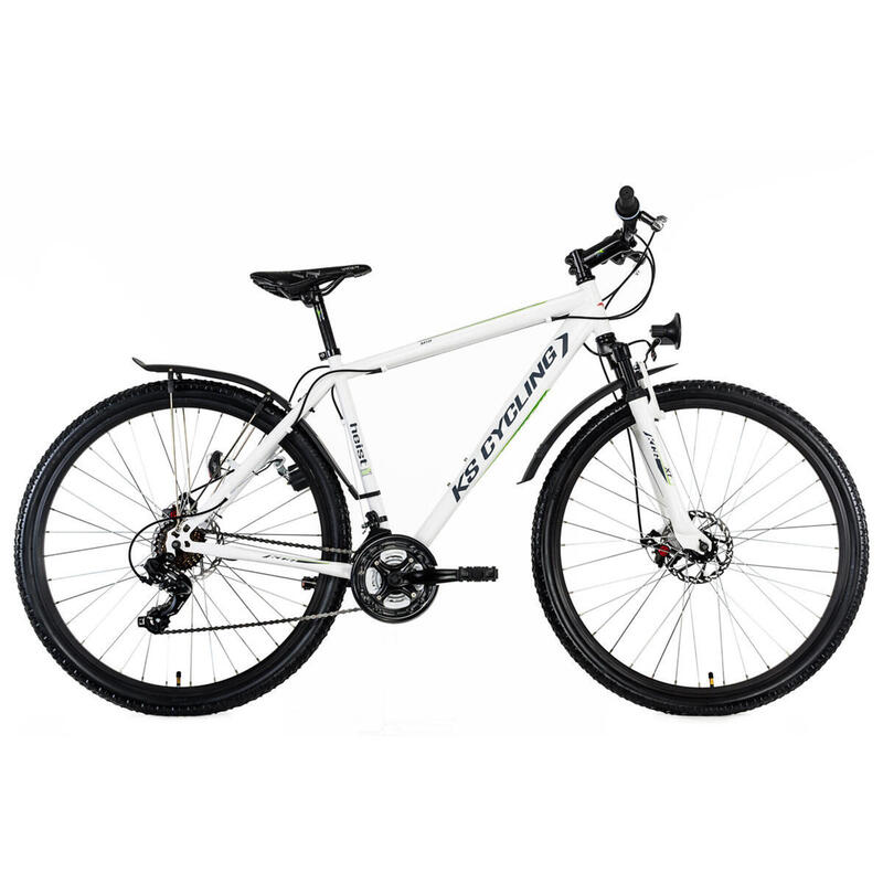 Hardtail Mountainbike ATB 29'' Heist wit KS Cycling