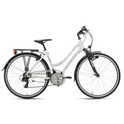 VTC Dame 28'' aluminium Canterburry blanc KS Cycling