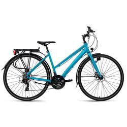 VTC femme 28'' aluminium Antero turquoise KS Cycling