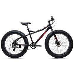 "KS Cycling 26"" Fatbike SNW2458 aluminium frame zwart"