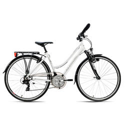 VTC Dame 28'' aluminium Canterburry blanc KS Cycling
