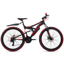 VTT Tout Suspendu 26'' Bliss Pro KS Cycling