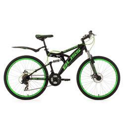 Fully Mountainbike 26'' Bliss groen KSCycling