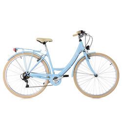 Stadsfiets dames 28'' Toscana blauw KSCycling