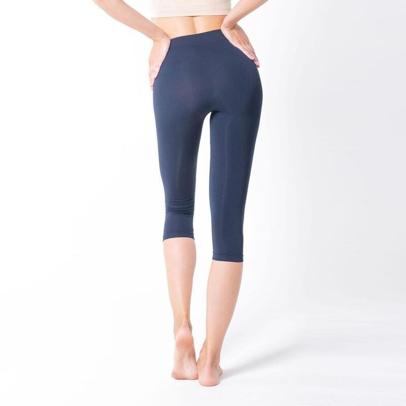 Legging capri push-up 160 den composé de fibres Emana® Lena.