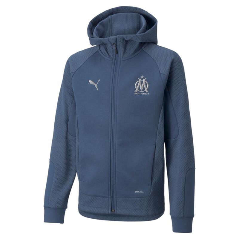 Coupe vent à zipper enfant Olympique de Marseille 2021/2022
