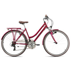 VTC femme 28'' aluminium Vegas rouge KS Cycling