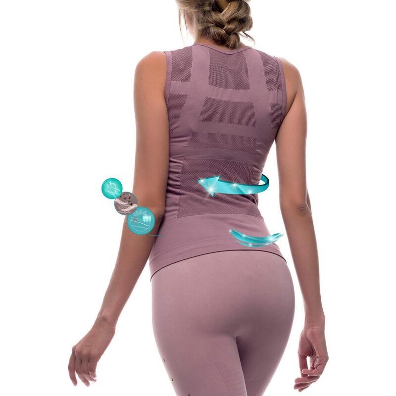 T-shirt de sport 3D sans couture, Namaste.
