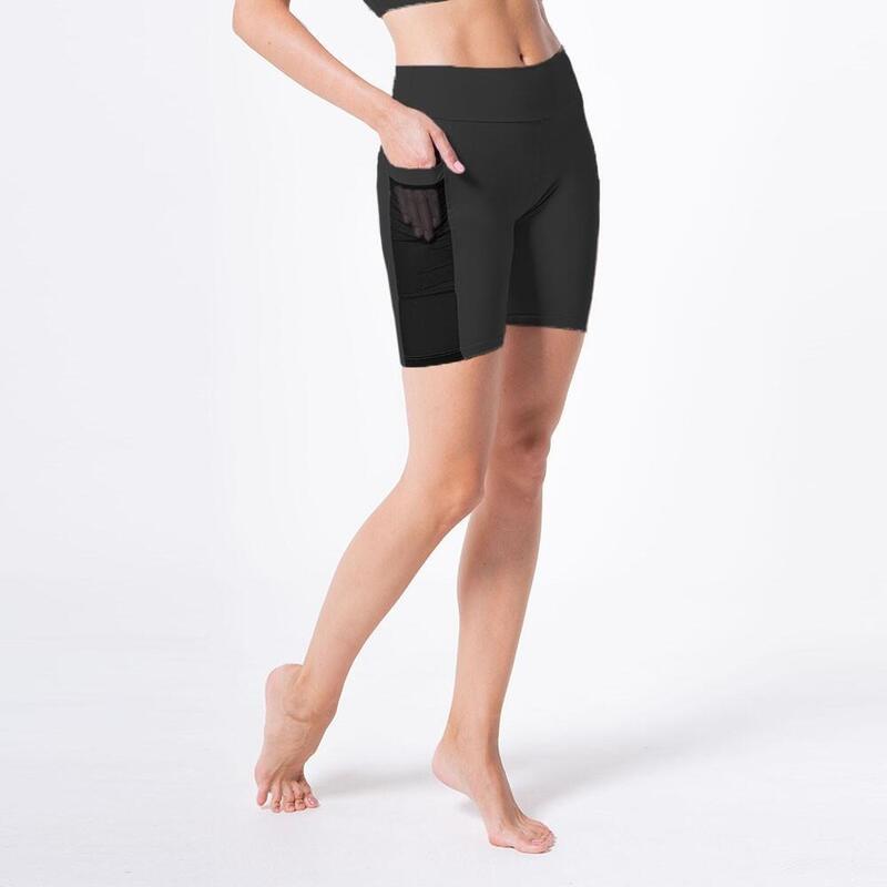 Shorts de compression avec poche et filet, Shivaya