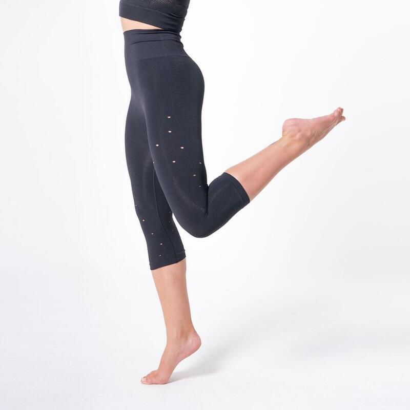 Legging auto-massant et raffermissant à taille haute, Namasté