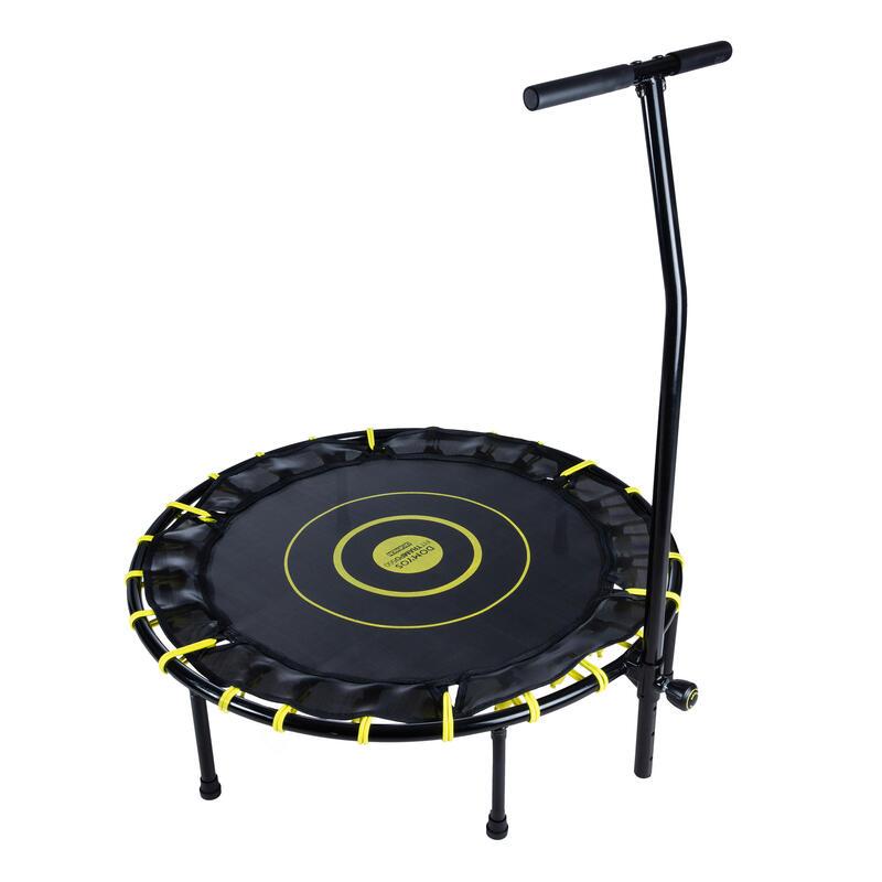 Reconditionné - Trampoline fitness FIT TRAMPO500 avec barre frontale - Très bon