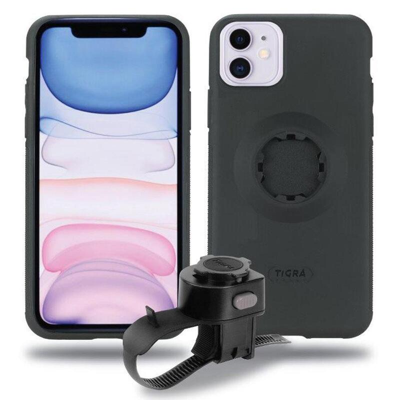 Tigra Fitclic iPhone 11 case with Handlebar mount