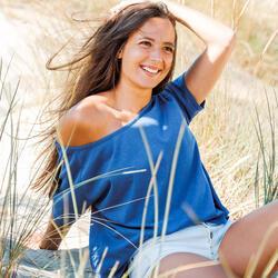 Top Femme Zicatela 100% Recyclé Bleu