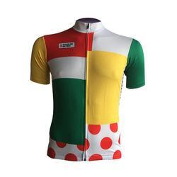 Maillot Cyclisme Rétro Maillot du Combiné Tour de France - Retro Cycling
