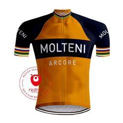 Retro Wielershirt Molteni Oranje - REDTED