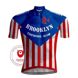 Retro Wielershirt Brooklyn - REDTED