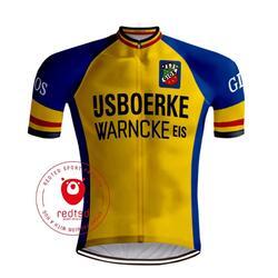 Retro Wielershirt IJsboerke Warncke - REDTED