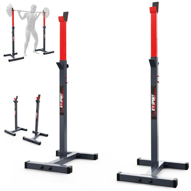 Soporte para barras con estantería para barras