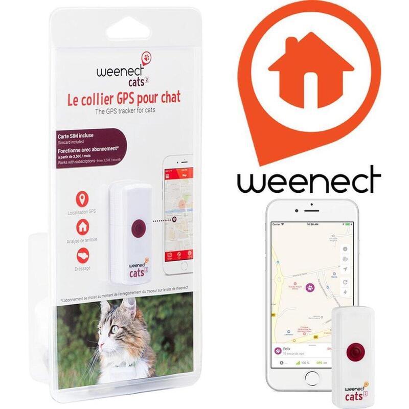 Weenect CATS² - GPS tracker voor katten