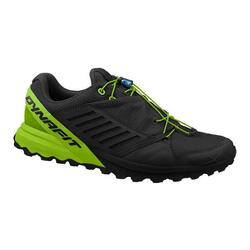 Men's trail running shoes Alpine Pro Black/DNA Green 7.5