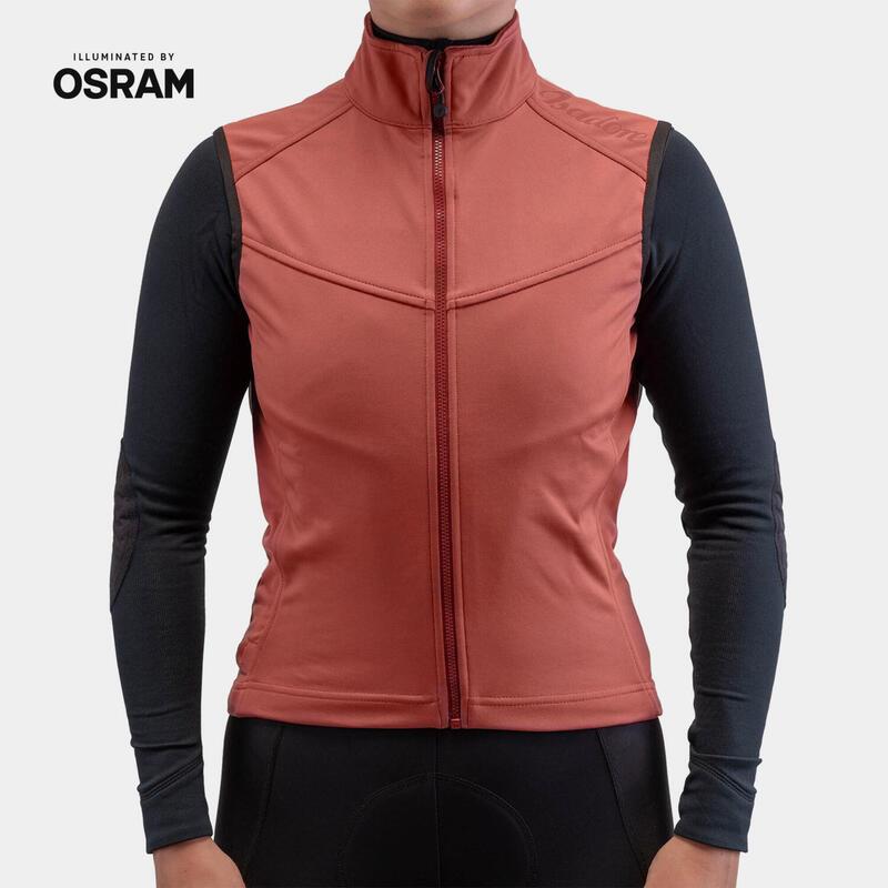 Marsala Merino Membrane Softshell Vest Women x OSRAM