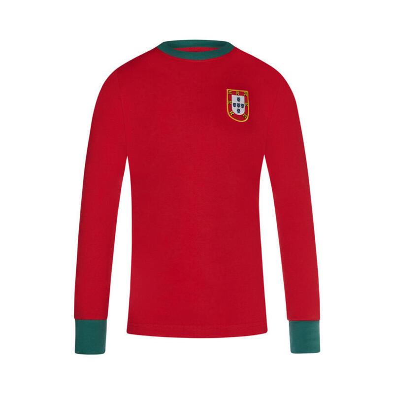 Maillot Rétro Équipe Portugal 1966 - Eusébio
