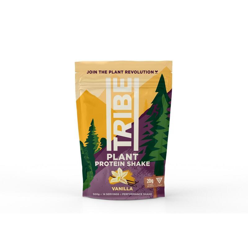 Vegan Protein Powder - Vanilla + Cinnamon - V, GF, DF (500g / 12 Servings)