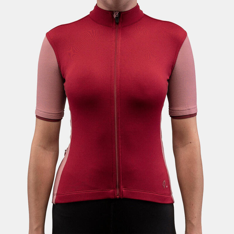 Signature Cycling Jersey Rio Red/Mesa Rose Women 2.0