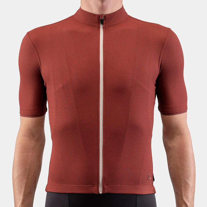 Maillot Cycliste Woolight Fired Brick