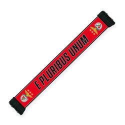 Écharpe rouge E Pluribus Unum