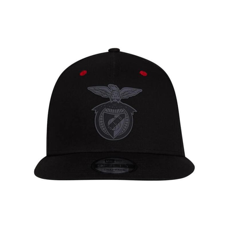 Zwarte pet met SL Benfica logo