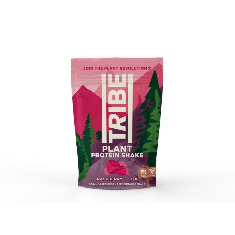 Vegan Protein Powder - Raspberry + Goji Berry - V, GF, DF (500g / 12 Servings)