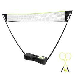 VirtuFit 2-in-1 Portable Badminton- en Tennis Set - Inclusief koffer en rackets