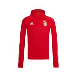 Adidas SL Benfica rode sweater met capuchon 2020-21 voor kinderen