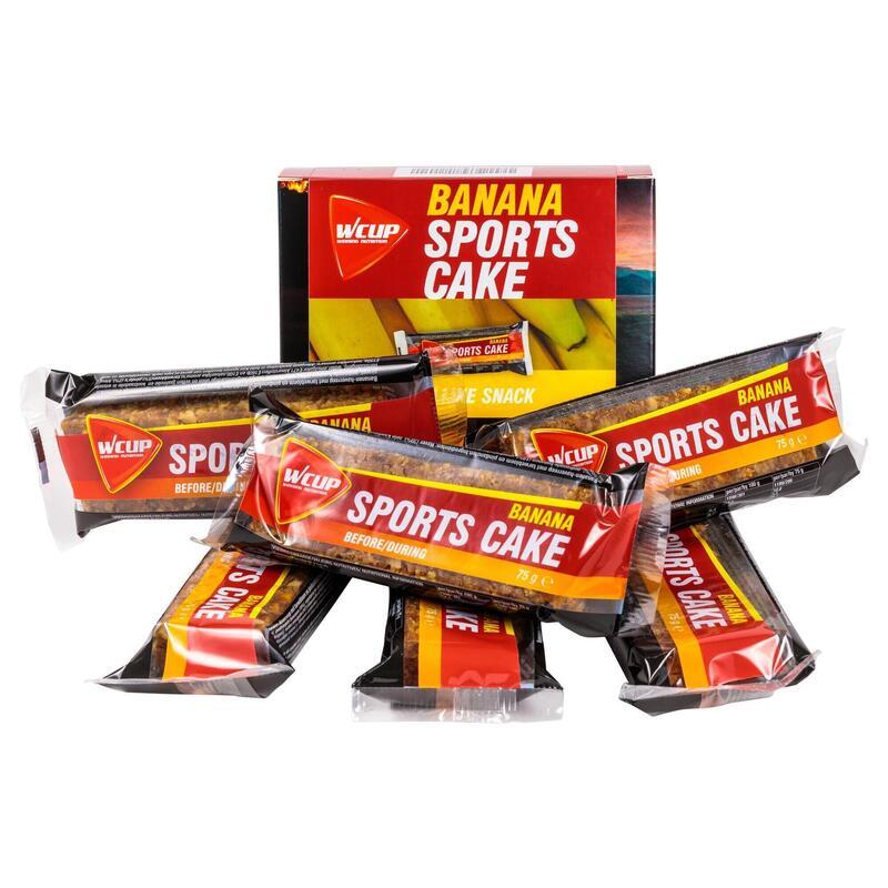 Sports Cake Banana (6 stuks)